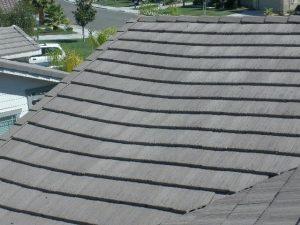 sagging roof, structural damage